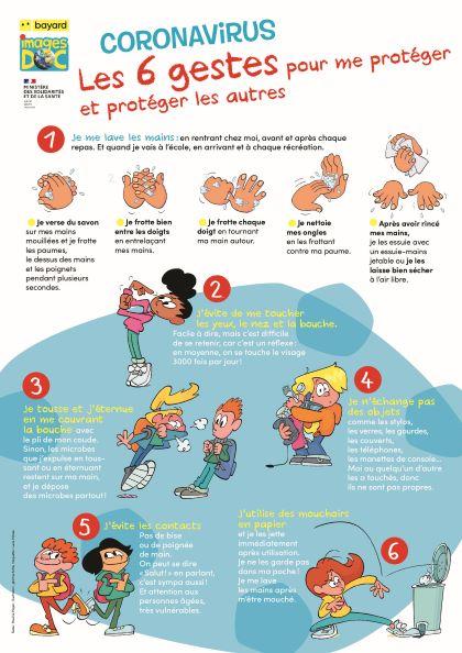 LE COVID-19 expliqué aux enfants
